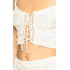 Jens pirate booty bandit queen top white